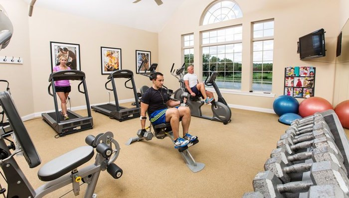 The 24-hour Fitness Center