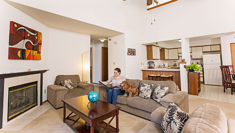 Foxhaven is pet friendly with no weight limit for our furry friends