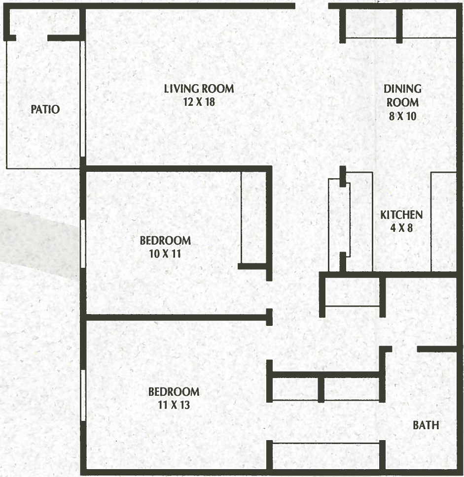 2 Bedroom, 1 Bath - 907 Sq. Ft. - Sunnyslope