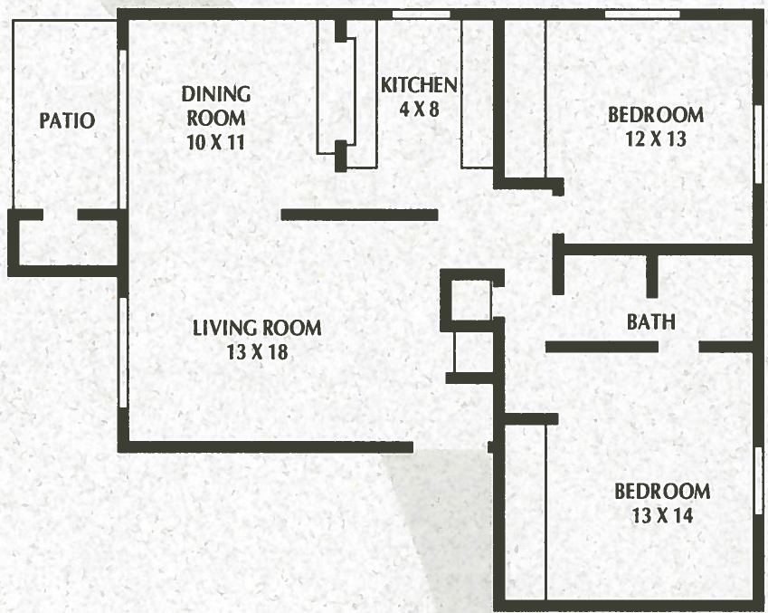 2 Bedroom, 1 Bath - 972 Sq. Ft. - Sunnyslope