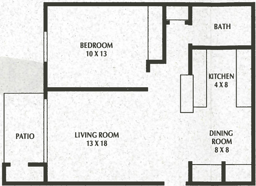 1 Bedroom, 1 Bath - 688 Sq. Ft. - Sunnyslope