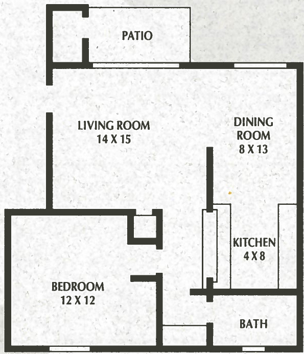 1 Bedroom, 1 Bath - 716 Sq. Ft. - Sunnyslope