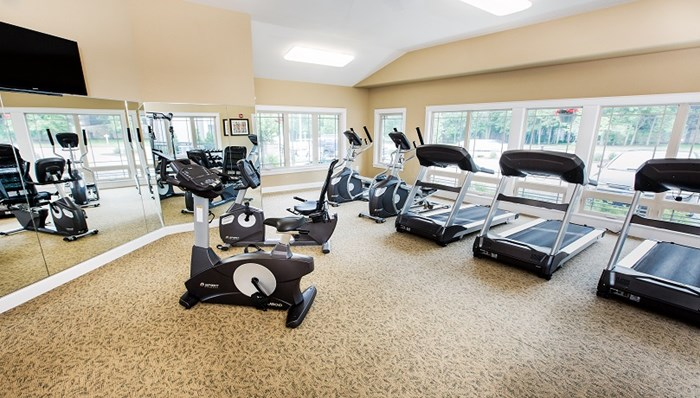 All new Fitness Center