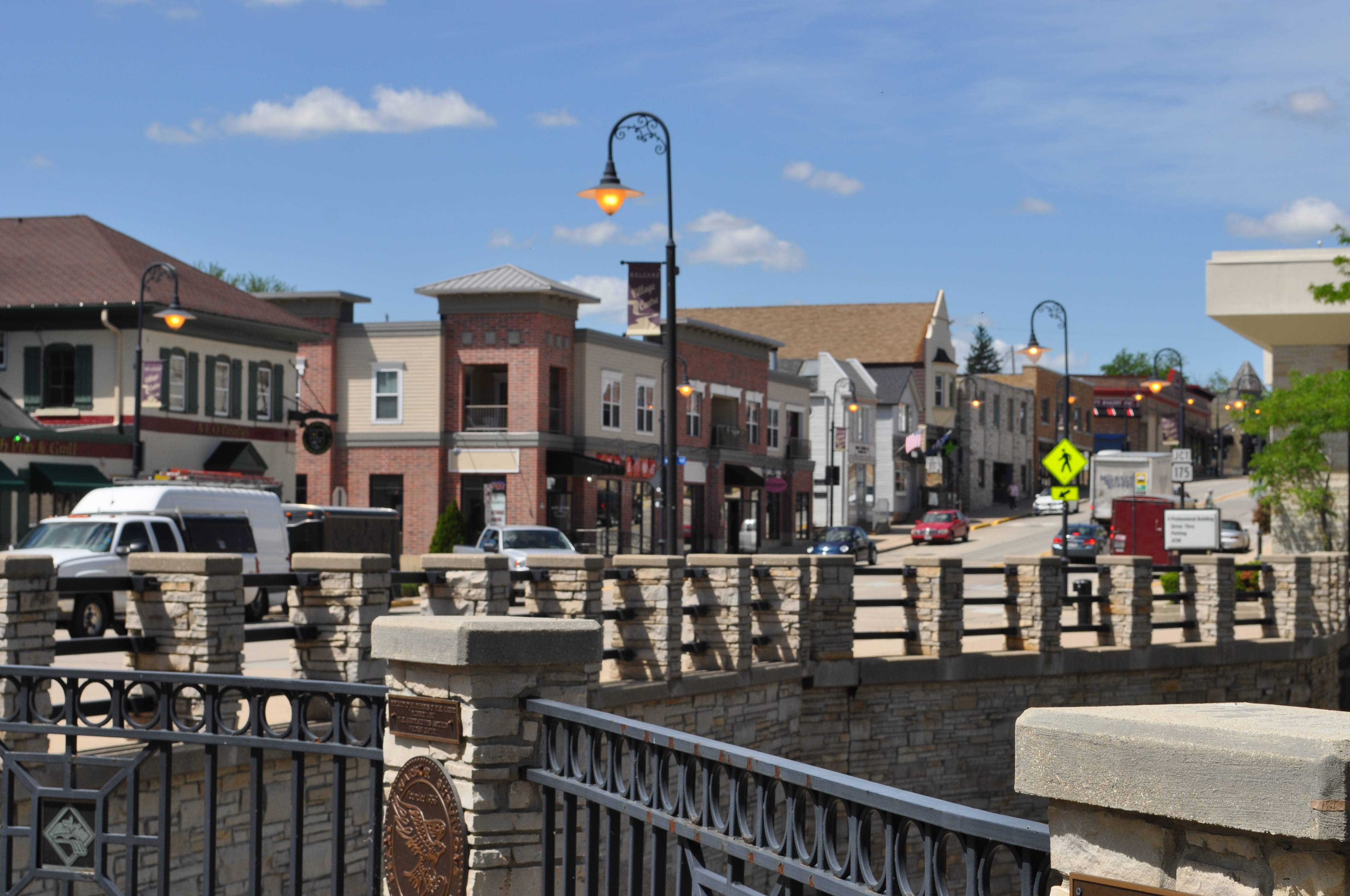 Riverwalk on the falls retail space condos lots retail for Garden pool apartments west allis wi