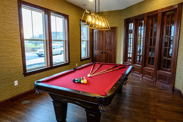 Enjoy our Classic Billiard's Room