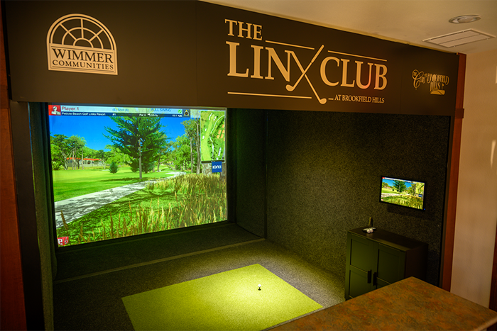 Outstanding amenities such as a state-of-the-art golf simulator
