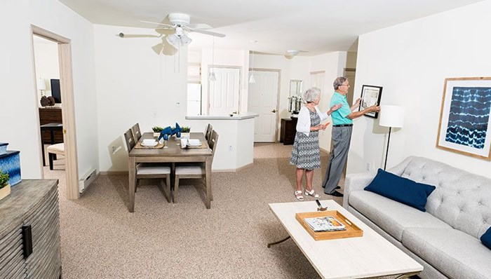 Forest Ridge offers beautiful apartments, but your touch is what makes it home