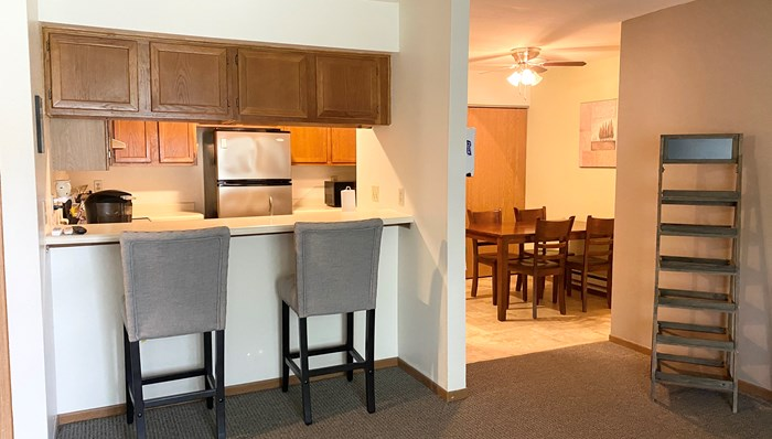 Open floor plans are great for entertaining Oakton Beach Apartments